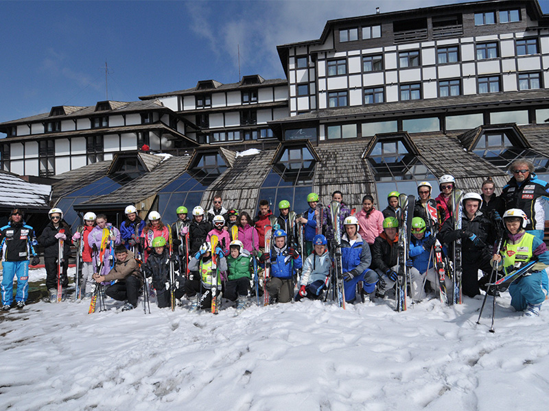 Free skiing for 30 primary school students from Kosovo