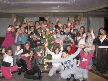 Children from Kosovo went to Kopaonik for free