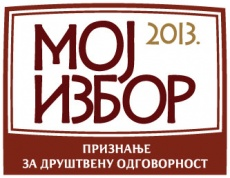"MK Group dobitnik zlatne medalje ""Moj izbor"""