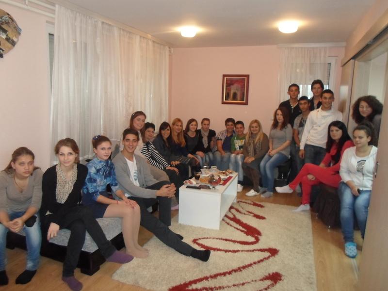 MK Group u poseti Kuće za mlade pri SOS Dečijem selu u Kraljevu
