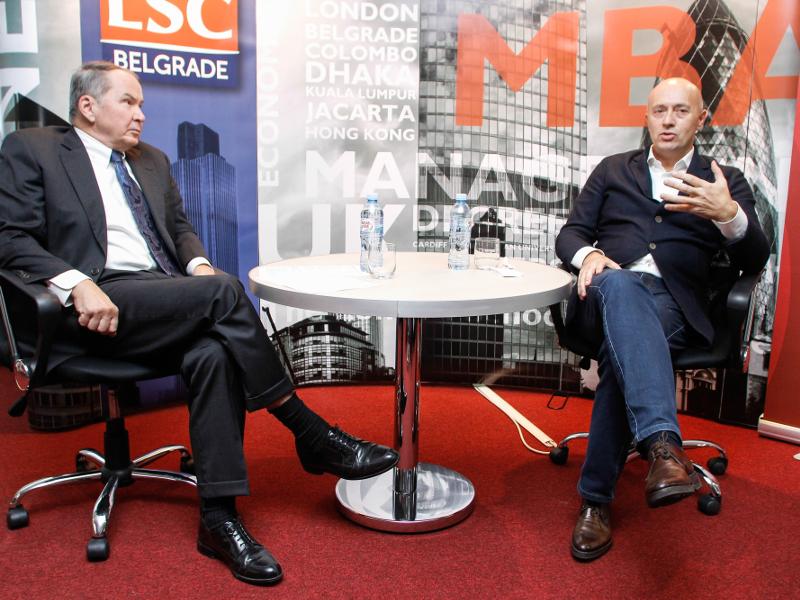 """Miodrag Kostić i Vilijam Montgomeri na """"Forumu liderstva"""""""
