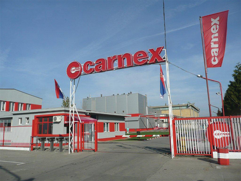 Carnex received international certificate for food safety