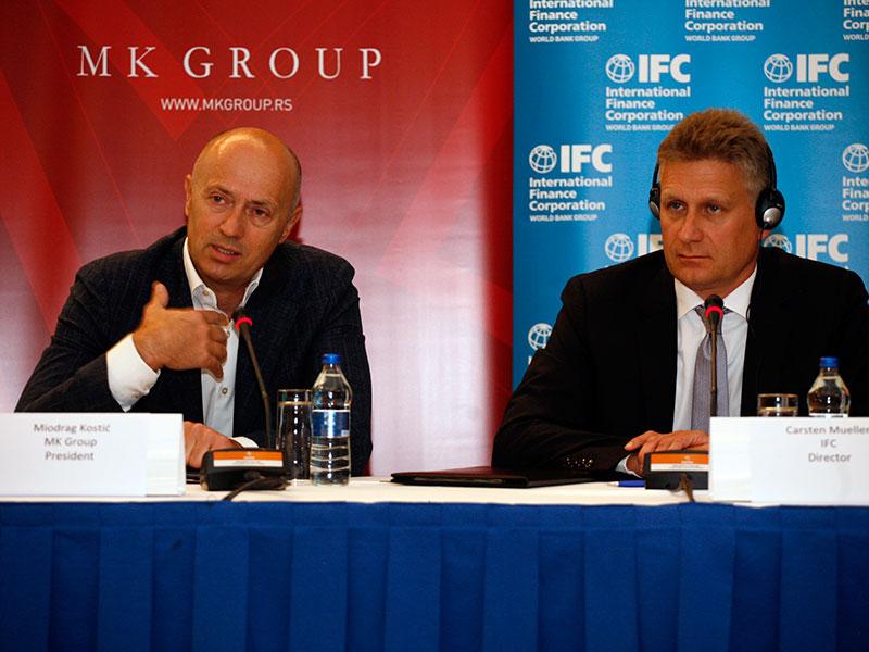 IFC odobrio novi kredit MK Grupi