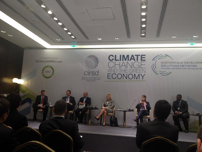 """Miodrag Kostić na međunarodnoj konferenciji """"Klimatske promene i zelena ekonomija"""""""