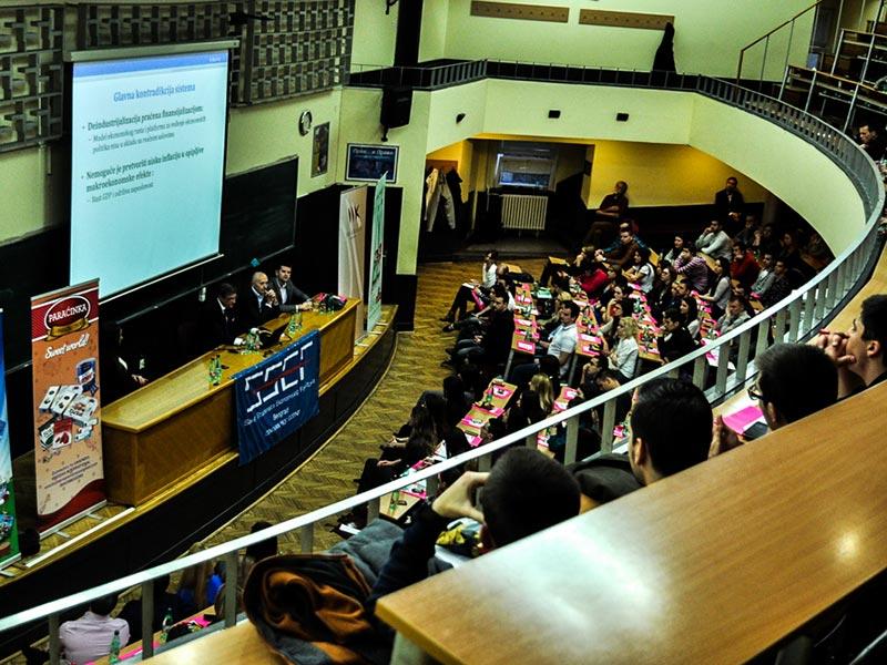 Miodrag Kostić održao predavanje na Ekonomskom fakultetu u Beogradu