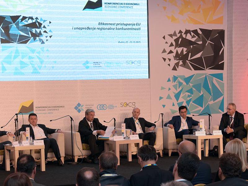 Miodrag Kostić na Konferenciji o ekonomiji Srbije i Crne Gore