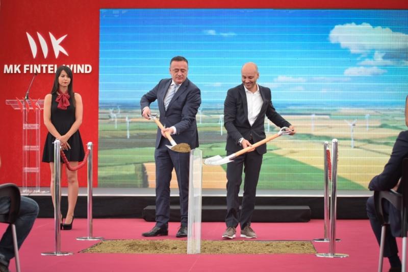 MK Fintel Wind počeo izgradnju trećeg vetroparka u Srbiji u koji će, u prvoj fazi, uložiti 124 miliona evra