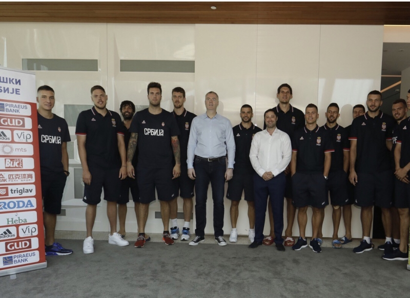 Men's senior National Basketball Team of Serbia started their  tournament preparations at Grand Hotel on Kopaonik