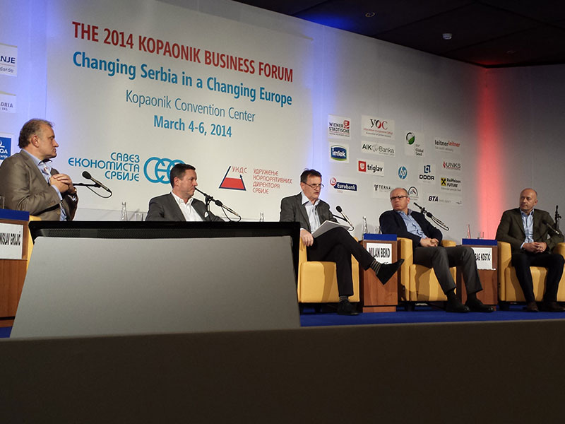 Miodrag Kostic participates in Kopaonik Business Forum