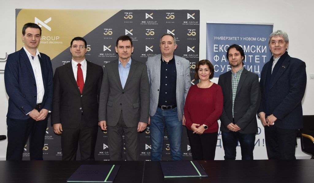 Protocol signing between the Faculty of Economics at the University of Novi Sad and MK Group