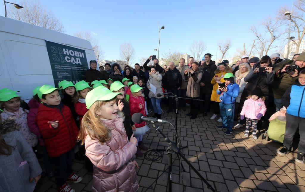 MK Group učestvovala u velikoj kampanji ozelenjavanja Novog Sada